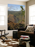 Waimea Canyon Waterfall Prints by Linda Ching
