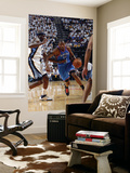 Oklahoma City Thunder v Memphis Grizzlies  - Game Four, Memphis, TN - MAY 9: Kevin Durant and Zach  Print by Layne Murdoch