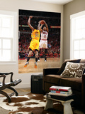 Indiana Pacers v Chicago Bulls - Game Five, Chicago, IL- April 26: Derrick Rose and Paul George Print