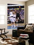 Miami Heat v Dallas Mavericks - Game Five, Dallas, TX -June 9: Dwyane Wade and Dirk Nowitzki Posters by Mike Ehrmann