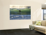 Surfing at Kalbarri Print by Will Salter