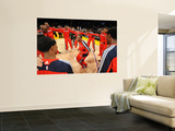 Atlanta Hawks v Los Angeles Lakers, Los Angeles, CA - February 22: Josh Powell Prints by Noah Graham