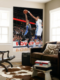 Orlando Magic v Denver Nuggets: Jameer Nelson and Shelden Williams Prints by Garrett Ellwood