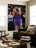 Sacramento Kings v New Orleans Hornets: Omri Casspi Print by Layne Murdoch