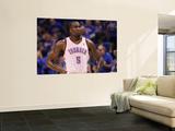 Memphis Grizzlies v Oklahoma City Thunder - Game Seven, Oklahoma City, OK - MAY 15: Kendrick Perkin Art by Ronald Martinez