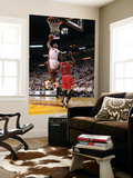 Chicago Bulls v Miami Heat - Game FourMiami, FL - MAY 24: LeBron James and Luol Deng Posters by Mike Ehrmann