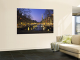 Prinsengracht and Wsterkerk, Amsterdam, Holland Prints by Jon Arnold