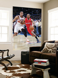 Los Angeles Clippers v Oklahoma City Thunder, Oklahoma City, OK - February 22: Randy Foye and Thabo Posters by Layne Murdoch