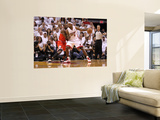 Chicago Bulls v Miami Heat - Game ThreeMiami, FL - MAY 22: LeBron James and Luol Deng Prints by Mike Ehrmann