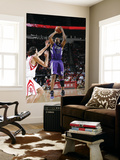 Sacramento Kings v Houston Rockets: Carl Landry and Luis Scola Posters by Bill Baptist
