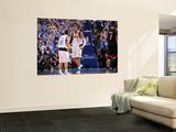 Miami Heat v Dallas Mavericks - Game Five, Dallas, TX -June 9: Jose Barea and Tyson Chandler Poster by Andrew Bernstein
