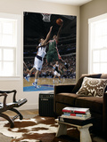 Milwaukee Bucks v Dallas Mavericks: Brandon Jennings and Dirk Nowitzki Posters by Danny Bollinger