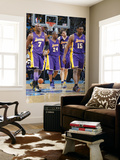Los Angeles Lakers v New Orleans Hornets - Game Three, New Orleans, LA - APRIL 22: Pau Gasol, Kobe  Prints by Layne Murdoch