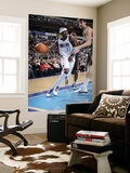 Milwaukee Bucks v Dallas Mavericks: Jason Terry and Andrew Bogut Poster by Glenn James
