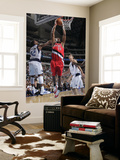 Portland Trail Blazers v Dallas Mavericks: Marcus Camby and DeShawn Stevenson Prints by Glenn James