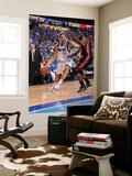 Miami Heat v Dallas Mavericks - Game Five, Dallas, TX -June 9: Dirk Nowitzki and Joel Anthony Print by Andrew Bernstein