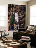Milwaukee Bucks v Dallas Mavericks: Caron Butler and Drew Gooden Posters by Danny Bollinger