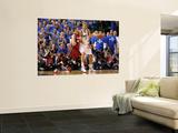 Miami Heat v Dallas Mavericks - Game Four, Dallas, TX -June 7: Dirk Nowitzki and Mike Miller Prints by Mike Ehrmann