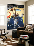 Charlotte Bobcats v Memphis Grizzlies: Boris Diaw and Hasheem Thabeet Prints by Joe Murphy