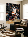 Miami Heat v Washington Wizards: LeBron James and Josh Howard Prints by Greg Fiume