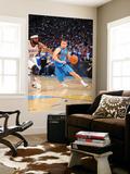 Dallas Mavericks v Oklahoma City Thunder - Game ThreeOklahoma City, OK - MAY 21: Jose Barea and Jam Prints by Joe Murphy