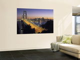 Oakland Bay Bridge, San Francisco, California, USA Posters by Walter Bibikow