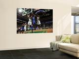 New York Knicks v Boston Celtics - Game One, Boston, MA - April 17: Amar'e Stoudemire, Jermaine O'N Poster
