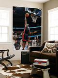 Miami Heat v Washington Wizards: LeBron James and Cartier Martin Posters by Greg Fiume