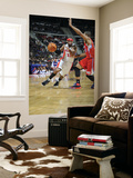 Los Angeles Clippers v Detroit Pistons: Richard Hamilton and Eric Gordon Posters by Allen Einstein