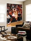 Cleveland Cavaliers v Miami Heat: LeBron James and Daniel Gibson Posters by Victor Baldizon