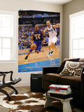 Los Angeles Lakers v Dallas Mavericks - Game Four, Dallas, TX - MAY 8: Kobe Bryant and Jason Kidd Posters by Noah Graham