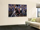 Miami Heat v Dallas Mavericks - Game Five, Dallas, TX -June 9: LeBron James and Shawn Marion Art by Glenn James