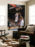 Minnesota Timberwolves v Detroit Pistons, Auburn Hills, MI - March 2: Austin Daye and Greg Monroe Prints by Allen Einstein