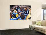 Dallas Mavericks v Miami Heat - Game Six, Miami, FL - June 12: Ian Mahinmi, Shawn Marion, Jason Kid Print by Andrew Bernstein