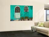Guylain Doyle - Mexican House Exterior - Reprodüksiyon