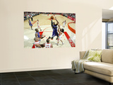 Sacramento Kings v Houston Rockets: Jason Thompson and Luis Scola Posters by Bill Baptist