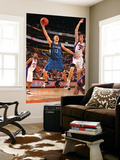 Minnesota Timberwolves v Phoenix Suns: Luke Ridnour and Goran Dragic Print by Barry Gossage