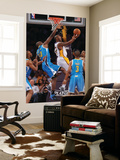 New Orleans Hornets v Los Angeles Lakers - Game One, Los Angeles, CA - April 17: Kobe Bryant and Em Prints