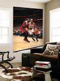 Miami Heat v Chicago Bulls - Game Five, Chicago, IL - MAY 26: Taj Gibson and Udonis Haslem Prints by Nathaniel S. Butler