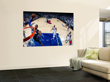 Orlando Magic v Atlanta Hawks - Game Six, Atlanta, GA - APRIL 28: Dwight Howard Posters by Kevin Cox