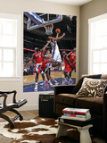 Philadelphia 76ers v New Jersey Nets: Travis Outlaw Poster by  David