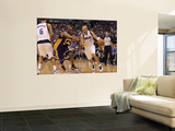Los Angeles Lakers v Dallas Mavericks - Game Four, Dallas, TX - MAY 08: Jason Kidd and Kobe Bryant Prints by Ronald Martinez