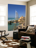Mina a Salam and Burj Al Arab Hotels, Dubai, United Arab Emirates Prints by Gavin Hellier