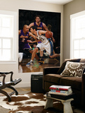 Los Angeles Lakers v Washington Wizards: Kirk Hinrich and Derek Fisher Posters by Ned Dishman
