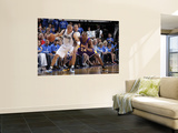 Los Angeles Lakers v Dallas Mavericks - Game Four, Dallas, TX - MAY 8: Jason Kidd and Kobe Bryant Prints by Glenn James
