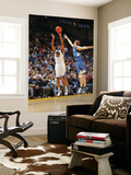 Minnesota Timberwolves v Golden State Warriors: Reggie Williams and Luke Ridnour Prints by Rocky Widner