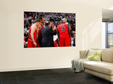 Chicago Bulls v Atlanta Hawks - Game Four, Atlanta, GA - MAY 8: Tom Thibodeau, Kyle Korver, Joakim  Poster by Kevin Cox