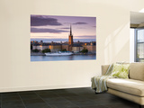 Sunset, Riddarholmen and Gamla Stan, Stockholm, Sweden Prints by Doug Pearson