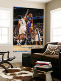 Los Angeles Lakers v Washington Wizards: Kobe Bryant and Nick Young Poster by Andrew Bernstein