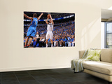 Oklahoma City Thunder v Dallas Mavericks - Game TwoDallas, TX - MAY 19: Jose Barea and Eric Maynor Prints by Andrew Bernstein